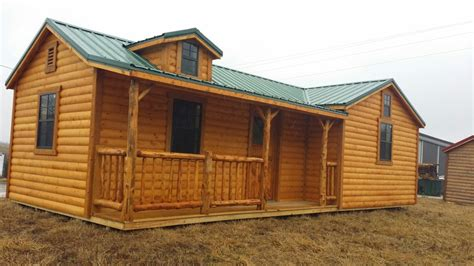 rent to own cabins wildcat barns log cabins rent to own custom built log