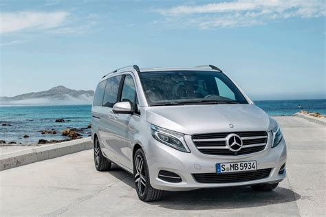 mercedes minivan new mercedes v class luxury minivan pictures and details
