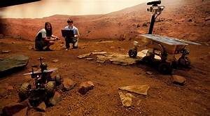 Pathways to Space: Creating the Mars Yard | Australian ...