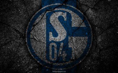 herunterladen hintergrundbild schalke  logo kunst