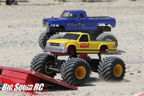 rc monster truck freestyle event coverage bigfoot 4 4 open house r c monster