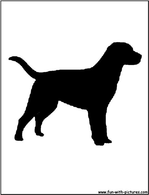 dogs silhouettes  printables  activities  kids