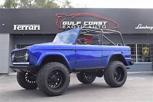 1973 Ford Bronco 2000 Miles Blue SUV V8 5.0L Automatic 5-Speed for sale - Ford Bronco 1973 for ...