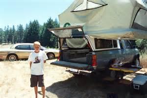 Pop Up Tent Truck Camper Shell
