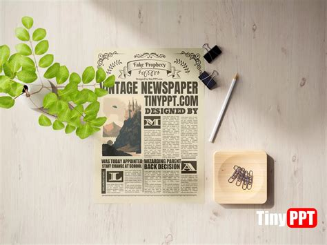 Vintage Newspaper Template Google Docs Free