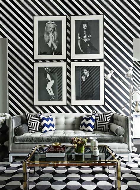 papier peint noir et gris le papier peint noir et blanc est toujours un singe d 233 l 233 gance