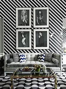 Le papier peint noir et blanc est toujours un singe d for Couleur qui va avec le gris 8 le papier peint noir et blanc est toujours un singe d