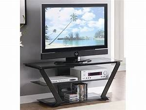 Inverted Triangle TV Stand On The Go Living