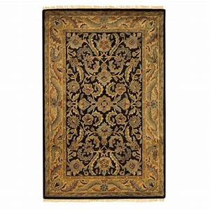 Home Decorators Collection Chantilly Black 2 ft. x 3 ft ...