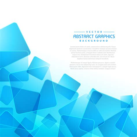 Abstract Blue Shapes Background by Blue Square Shapes Abstract Background Free
