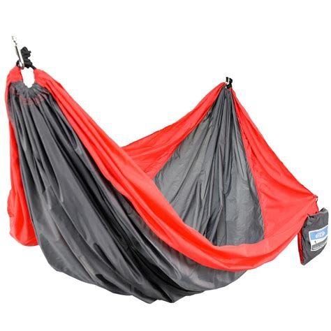 Two Person Hammock Cing by Equip 2 Person Gray Travel Hammock 96175 The Home Depot