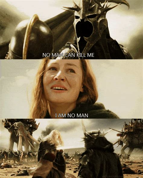 Lord Of The Rings #i Am No Man