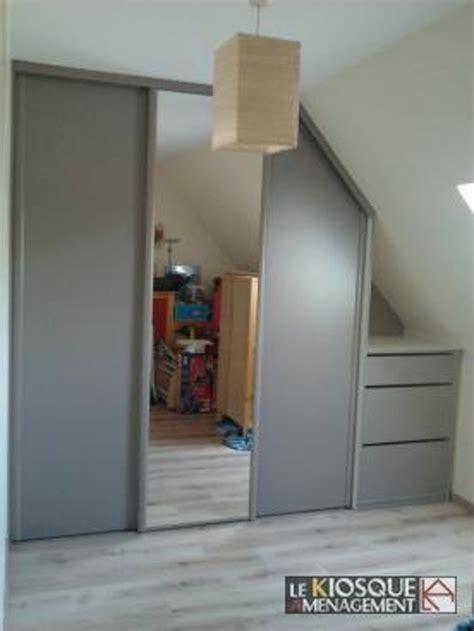 placard chambre sous pente