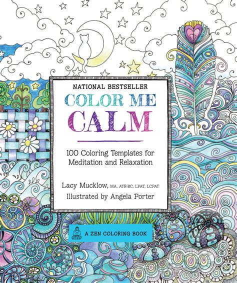 color me coloring book color me calm by lacy mucklow