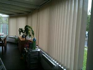 Store à Lamelles Verticales : stores bandes verticales veranda ~ Premium-room.com Idées de Décoration