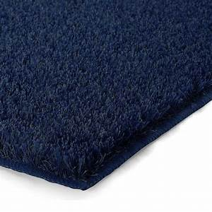 Tapis de salle de bain de luxe bleu marine for Tapis de bain luxe