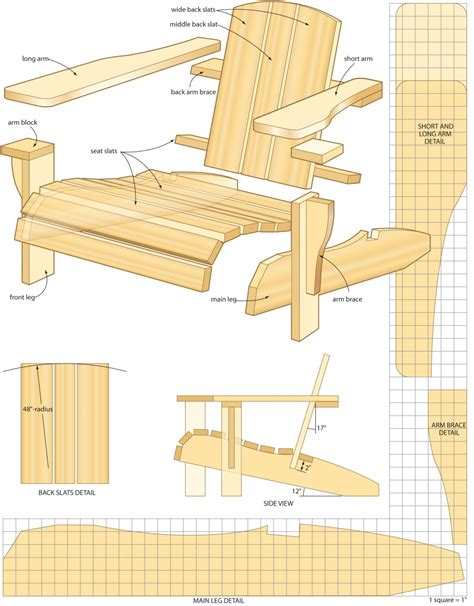 Adirondack Chair Woodworking Plans by Free Woodworking Plans Adirondack Chair Http Www
