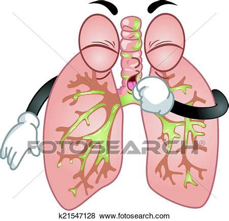 Cough Clipart Clip Of Coughing Lungs Mascot K21547128 Search