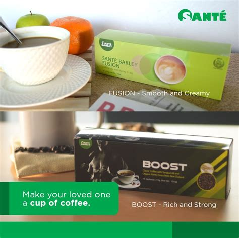 Perk up your morning with the rich velvety tastes of sante. Smell the Aroma, Savor the Flavor of Santé Fusion Coffee - Adverts - Nigeria