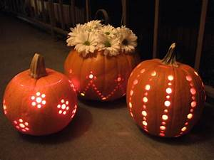 pumpkins carved with a drill crafty nest With drill pumpkin templates