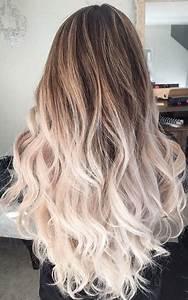Ombré Hair Blond Foncé : 17 best ideas about ombre hair on pinterest balayage hair balyage hair and ombre hair style ~ Nature-et-papiers.com Idées de Décoration