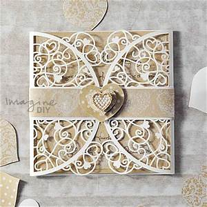 how to make venus heart laser cut invitation imagine diy With laser cut heart wedding invitations uk