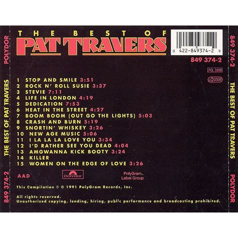 Life Of Lights by The Best Of Pat Travers Pat Travers Mp3 Buy Full Tracklist