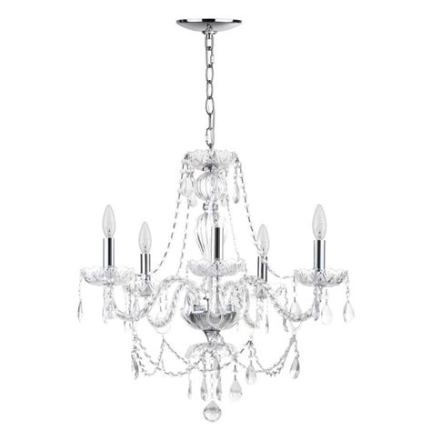 target chandelier l safavieh jingle 5 light chrome clear transitional candle