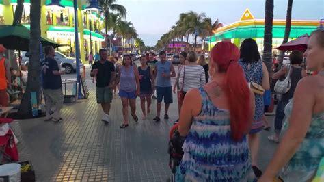 Fort Myers Beach Friday Night - YouTube