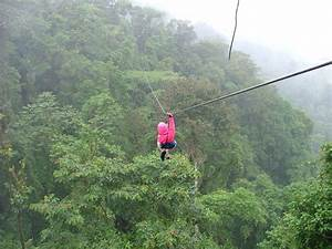 File:Zip-line over rainforest canopy 4 January 2005, Costa ...