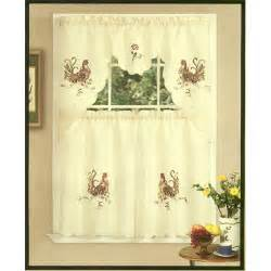 rooster curtains for kitchen kitchen ideas