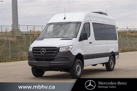 First, watch this video and get the full inside tour of my first 4×4 mercedes sprinter camper van. New 2019 Mercedes-Benz Sprinter 4x4 Passenger Van 144 Full-size Passenger Van in Edmonton ...