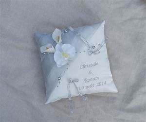 Coussin Gris Et Blanc : coussin alliance gris ~ Melissatoandfro.com Idées de Décoration