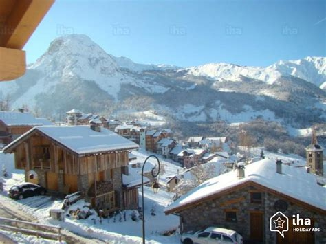 chalet for rent in martin de belleville iha 12318