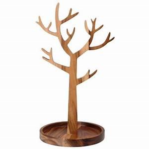 Arbre En Bois Deco : arbre bijoux bois la chaise longue absolument design ~ Premium-room.com Idées de Décoration