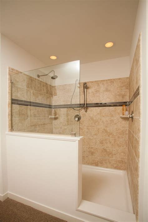 Ceramic Tile Bathroom Showers by Colony Homes Max 2 Cn338a Cornerstone Modular Ranch