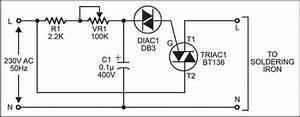 soldering iron temperature controller circuits With soldering iron control circuit diagram tradeoficcom