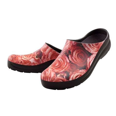 jollys s roses picture clogs size 7 lpc 37