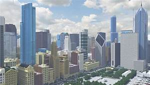 Recreating Chicagos Famous Skyline In Minecraft Curbed