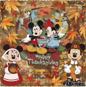 happy thanksgiving with disney picture 126893548 blingee