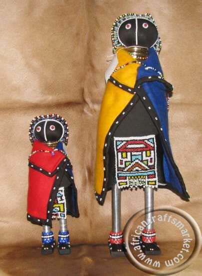 african ndebele initiation doll