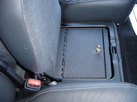 console vault truck  suv floor console safeinsert