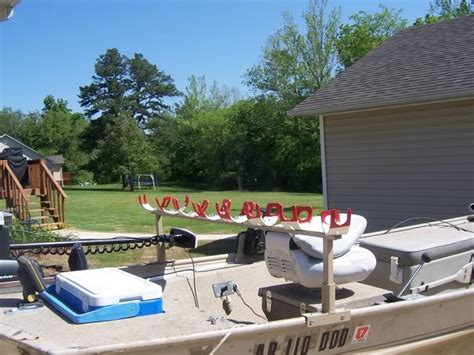 Boat Canopy Rod Holders by Boat Setup Pictures Page 3