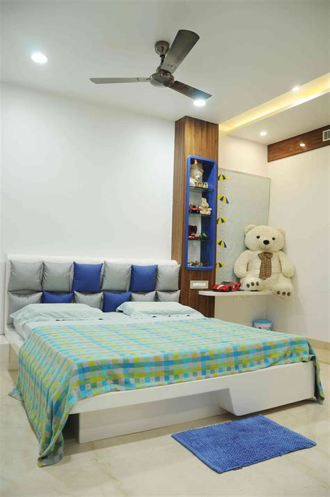 kids bedroom with soft toys designed by samanth gowda