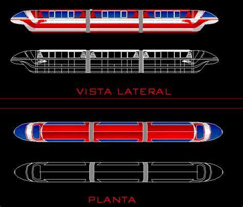 block monorail dwg plan  autocad designs cad