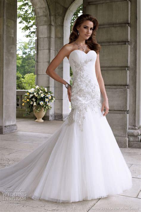 david tutera  mon cheri wedding dresses spring