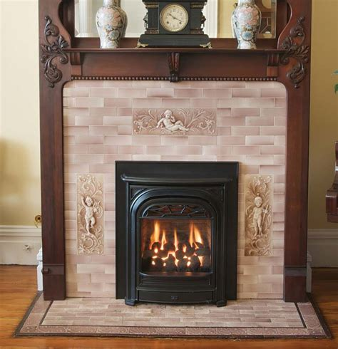 latest  fireplace inserts restoration design