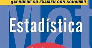 Alejandriabook: Estadística (serie Schaum) Spiegel 4a Ed