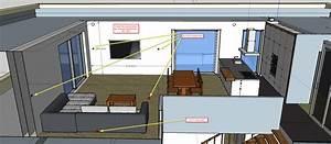 Küche Und Wohnzimmer In Einem Kleinen Raum : wohnzimmer und kuche in einem raum ihr traumhaus ideen ~ Markanthonyermac.com Haus und Dekorationen