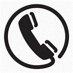 Phone Circle Icon Retro Headset Wire Cell